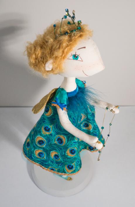 Muñeca de trapo para futuro cuento, Hada Estrella