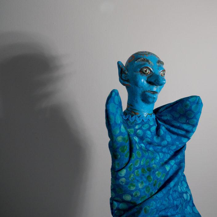 Marioneta para personaje de un cuento