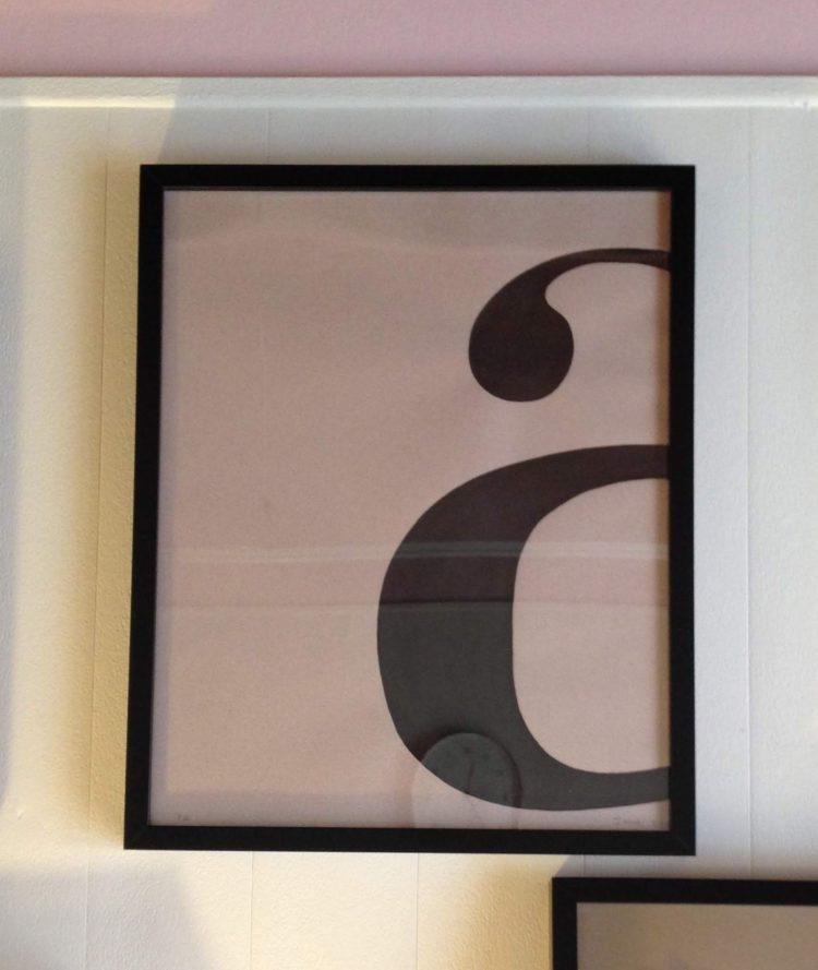 lámina tipografía