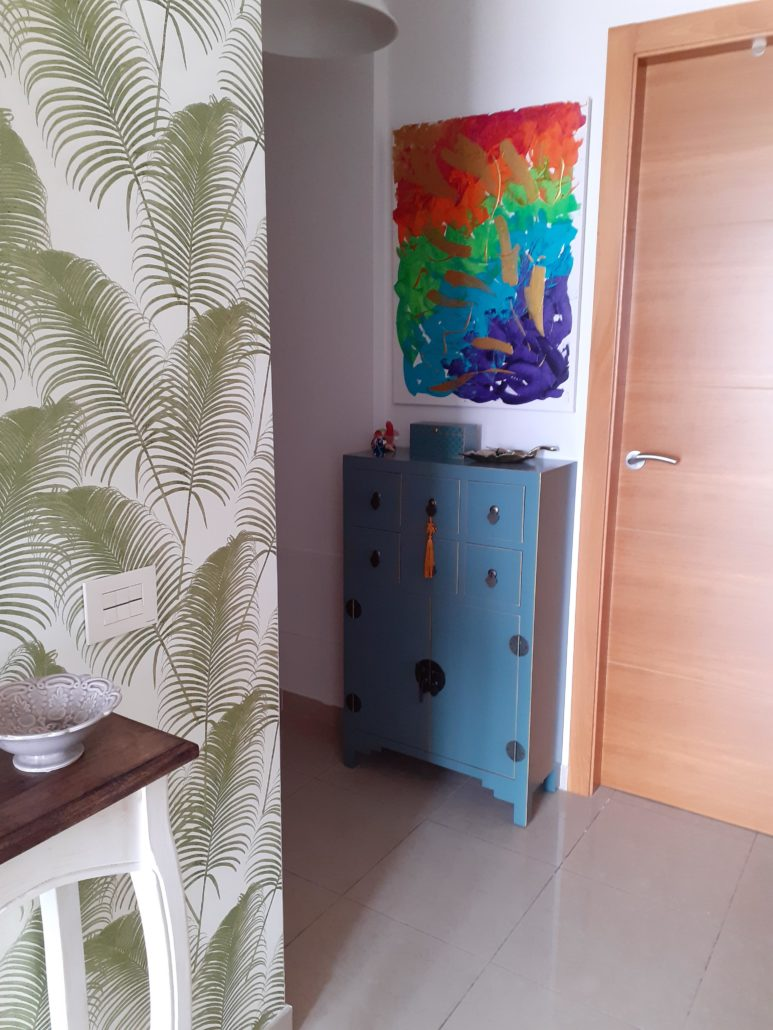 recoracion de recibidores pequeños