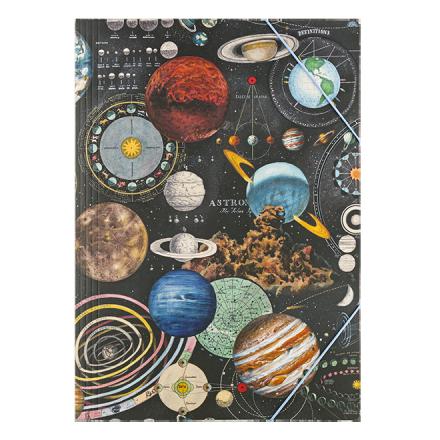Carpeta con elasticos A4 Planetarium