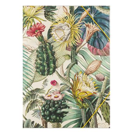 carpeta con elásticos A4 Cactus