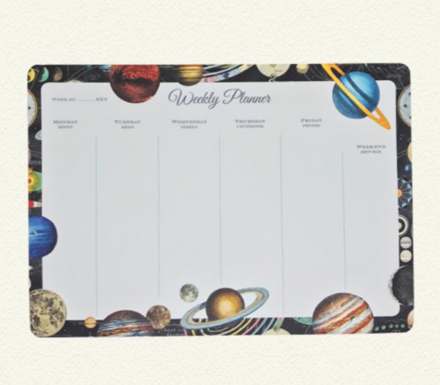 Planificador semanal Planetarium