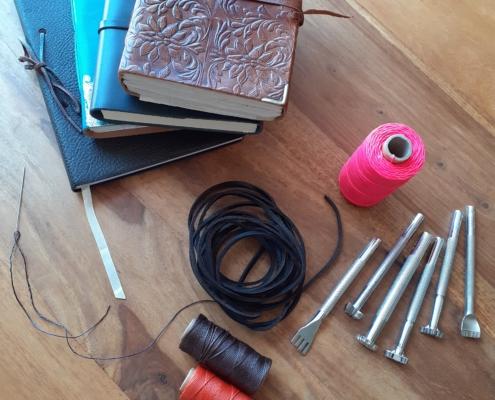 materiales para la encuadernación artesana